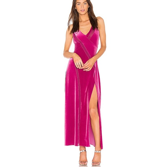 Free People Dresses & Skirts - Free People Spliced velvet maxi dress
